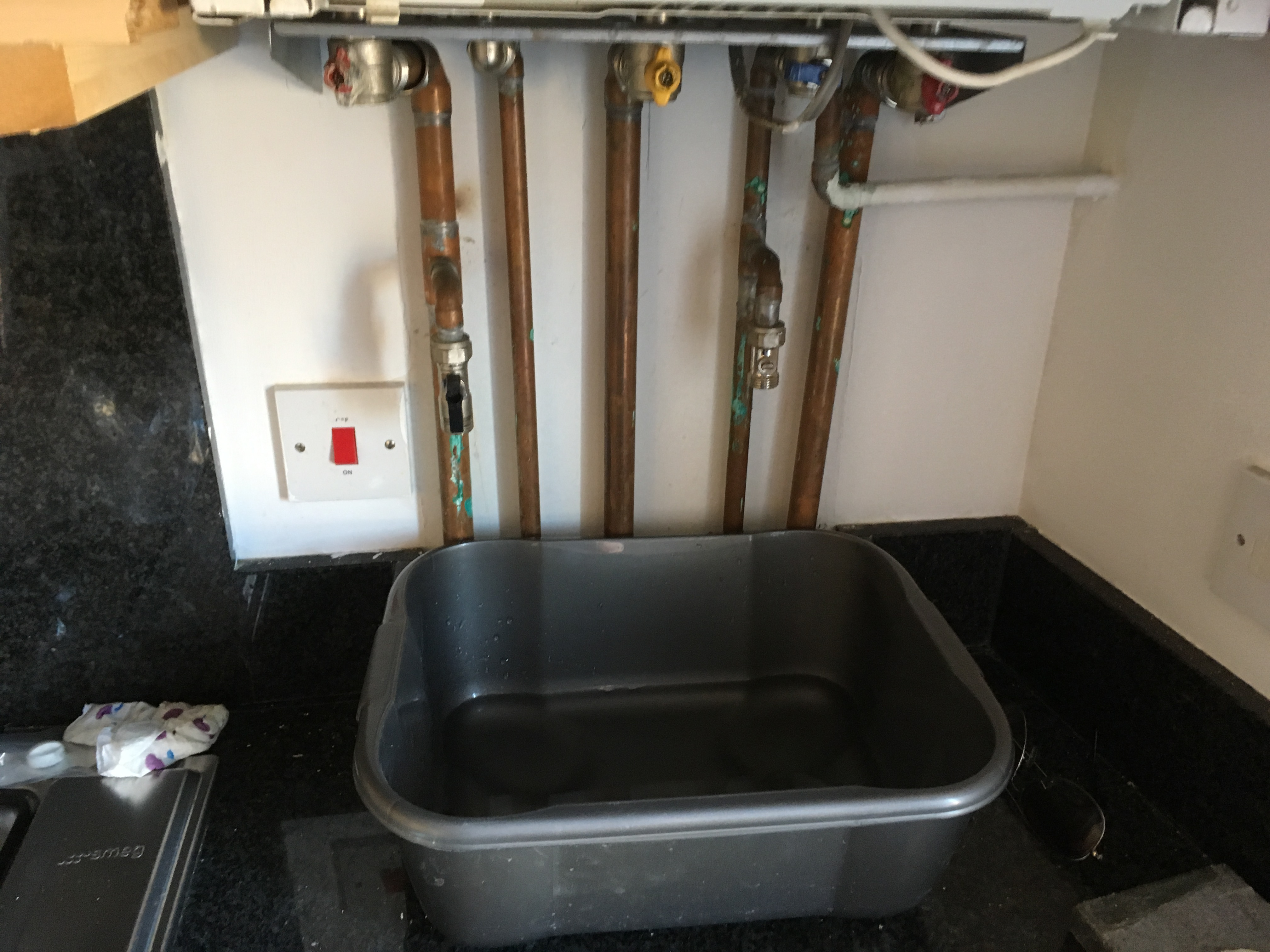 Ideal i-mini i24 Combi boiler installation Brentford | BitBroker