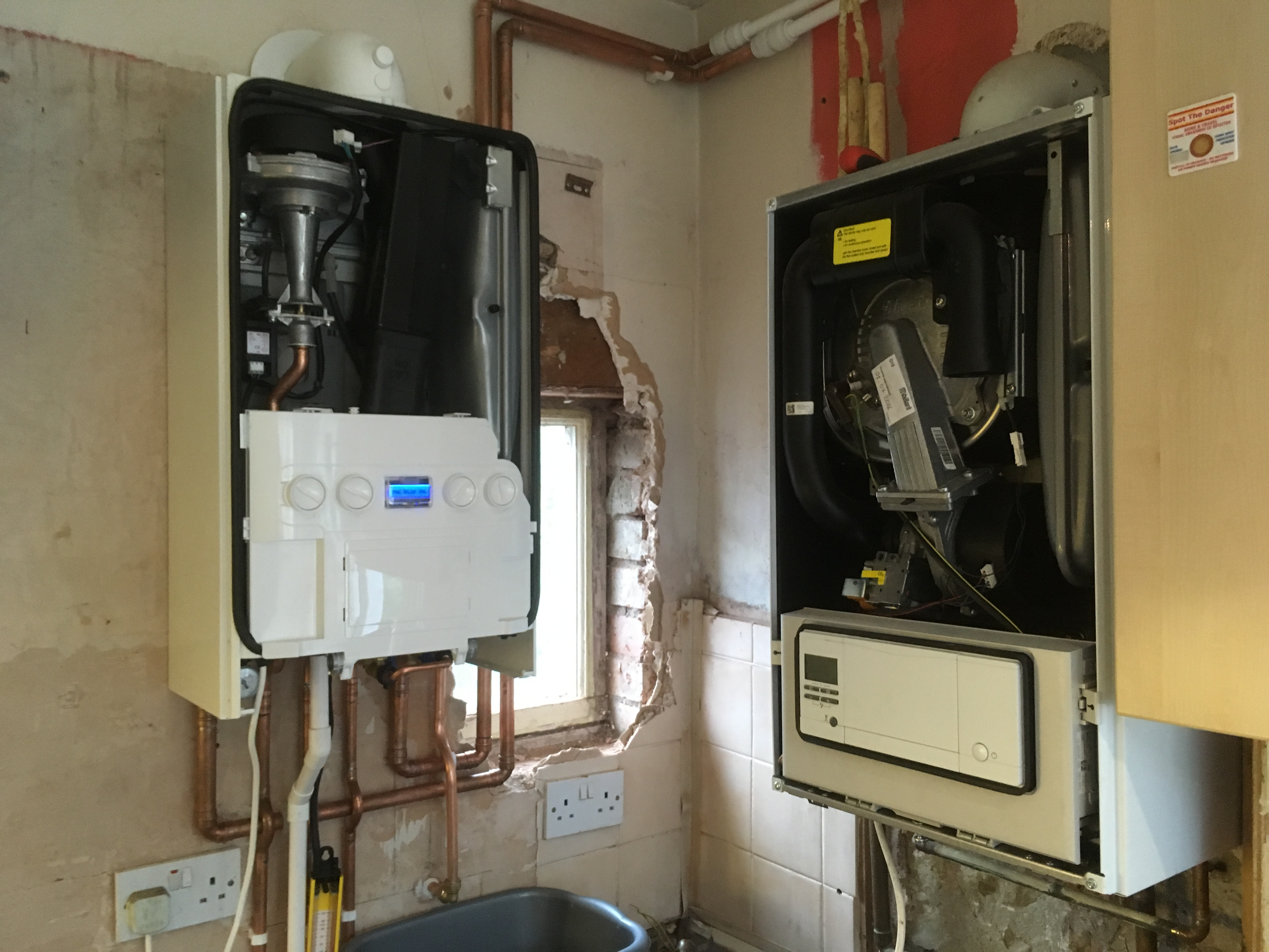 Boiler ideal logic installation the vale kingston bitbroker